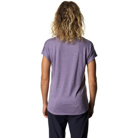 Houdini Activist Camiseta Manga Corta Mujer, lavender woods